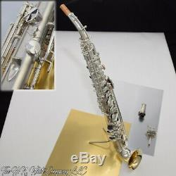 Vintage King H. N. White Saxello Saxophone Soprano Super Star