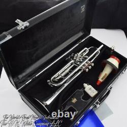 Vintage King Hn White Silver Flair Trumpet Professional Fabriqué En Cleveland