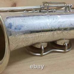 Vintage King Silver Plaqué Zephyr Alto Saxophone -le Plus Beau Que Vous Trouverez
