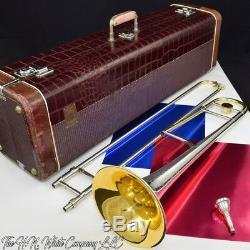 Vintage Roi H. N. Blanc 2b Silversonic Trombone Grand