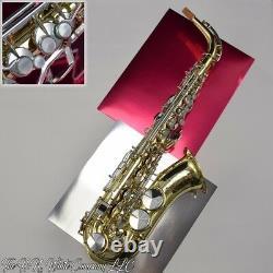 Vintage Roi H. N. Blanc Zephyr Eb Alto Saxophone Super Son Énorme