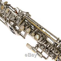 Vintage Saxophone Soprano Dolnet Republié Bateaux Parfaits Gratuit Dans Le Monde Entier