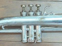 Vintage Selmer Paris Bugle Avec Vintage Rigide Et Embouchure