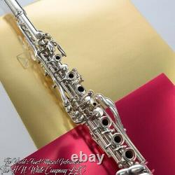 Vintage Silver King Clarinet Sterling Silver Bell Remarquable