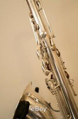 Vintage Tenor Saxophone Buffet Crampon Dynaction Made In France Paris Sax Français