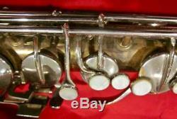 Vintage Utilisé Conn 16m Professionnel Tenor Saxophone Fait Aux Etats-unis Withcase As-is
