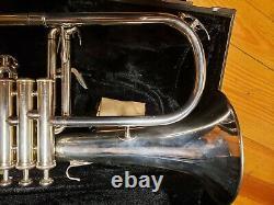 Yamaha 6310z Argent Bobby Shew Flugelhorn-condition Exceptionnelle
