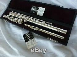 Yamaha Flute Pro 584h Refondu Tous Les Nouveaux Tampons Et Bouchons