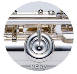 Yamaha Nouveau Modèle Flûte Yfl-222 Avec Boîtier Argent Expédition Accélérée