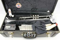 Yamaha Xeno Pro Ytr8335 Trompette Ytr 8335 Horn Avec Professionnel Coque D'origine