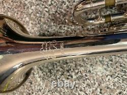 Yamaha Xeno Ytr-8335 Silver Plated Trumpet Avec Boîtier Yamaha Et Bouche