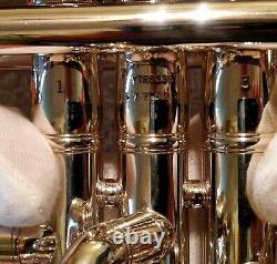 Yamaha Xeno Ytr-8335 Ytr-8335s Silver Trumpet Immaculé! Restauré