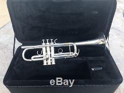 Yamaha Xeno Ytr-8445 Professional C Trompette Avec Étui Protec Pb-301