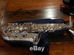 Yamaha Yas-875ex Custom Series Alto Saxophone Métal Argenté
