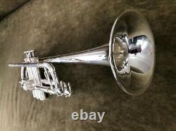 Yamaha Ytr-6445 Hg Mark II C Trompette En Plaque D'argent. Condition Immaculée
