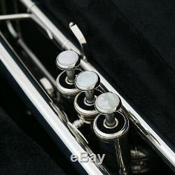 Yamaha Ytr-8335-rgs-ii Trompette Argent Plaqué Livraison Gratuite