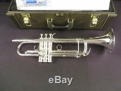 Yamaha Ytr8335las Bb Trompette, Argent, Monnaie Étiquettes Withh Et Boîte # Ptr18