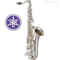 Yamaha Yts-62s Troisième Génération Saxophone Ténor En Métal Argenté