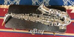 Yanagisawa Argent Plaqué Alto Sax 900 Setup Pro. Rare. Agréable