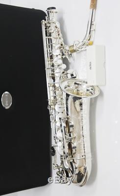 Yas-62s 04 Saxophone Alto Modèle Le Plus Récent Plaqué Argent Pour Yamaha Safe Navire