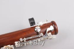 Yinfente Professional Rosewood Clarinette Clé Clarinette Métal Argenté Key Case
